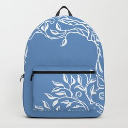 Tree of Life Blue Backpack