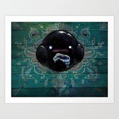 Oozing Blob Spirit Art Print