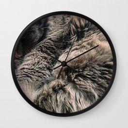 Moses the cat Wall Clock