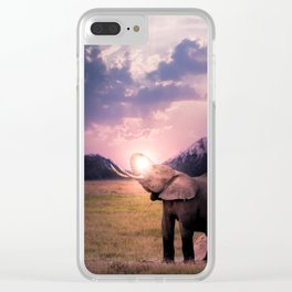 Elephantsun Clear iPhone Case