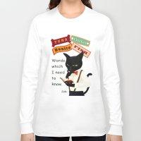 study Long Sleeve T-shirts featuring Study by BATKEI