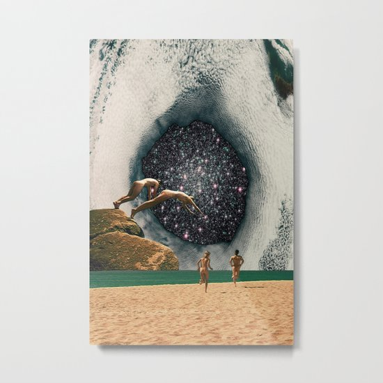 Catch the Wormhole of 3:45 PM Metal Print