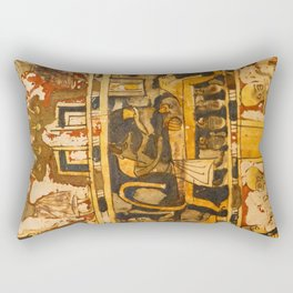 Egyptian Ancient Art Rectangular Pillow