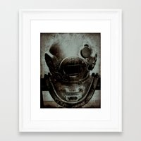 nemo Framed Art Prints featuring Captain Nemo by Bella Blue Photography