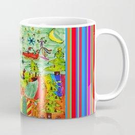 Christmas Village   Painting by Elisavet Coffee Mug
