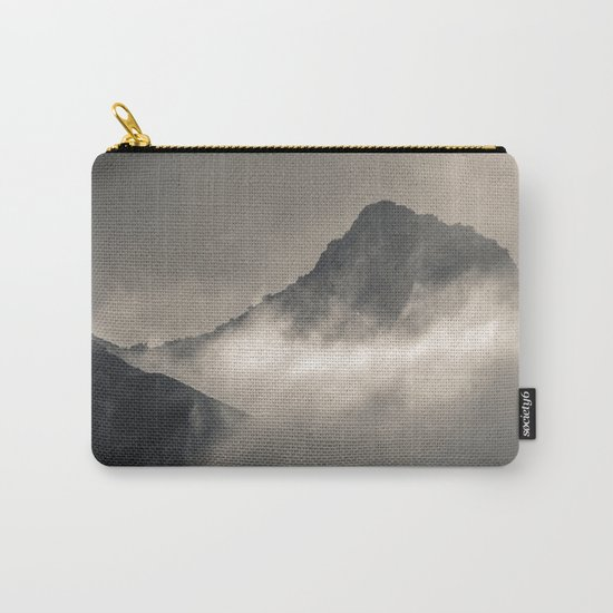 """""""Into the fog"""". Foggy mountains Carry-All Pouch"""
