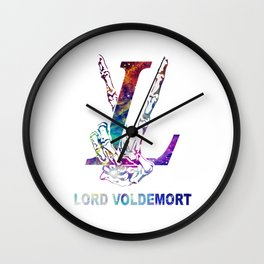LV victory lord voldemort Wall Clock