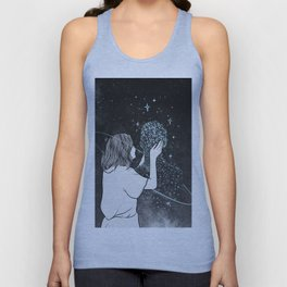 Miracles sometimes happens. Unisex Tank Top
