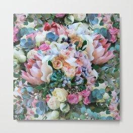 Romantic flowers II Metal Print