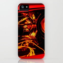 Red Headlight iPhone Case