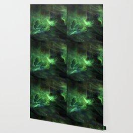 Ghostly Green Smoke Wallpaper