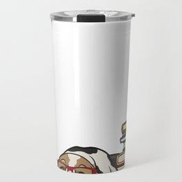 Basset Hound 1 Travel Mug