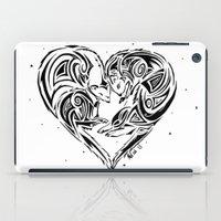 ferret iPad Cases featuring Ferret Love by Mel Hampson