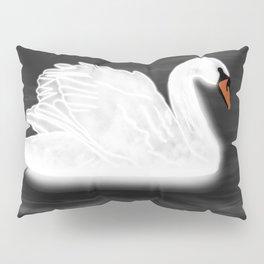 Illuminating Swan Pillow Sham
