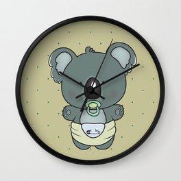 Baby koala Wall Clock