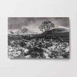 Rannoch Moor, Highlands, Scotland, UK Metal Print