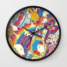 La comuna diversa Wall Clock