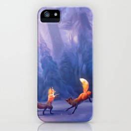 Fox play iPhone Case