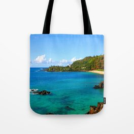Waimea Bay ... By LadyShalene Tote Bag
