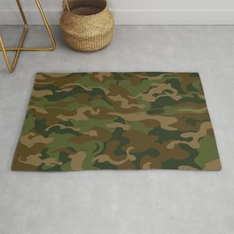 Camo Style - Military Camouflage Rug