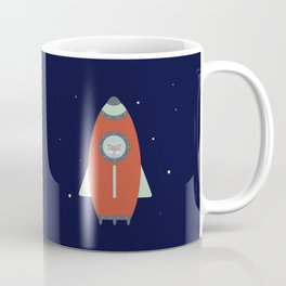 Fox Rocket Coffee Mug