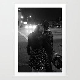 """Hollywood Nights"" Photo Print Art Print"