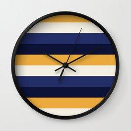 Stripes - Holiday Wall Clock