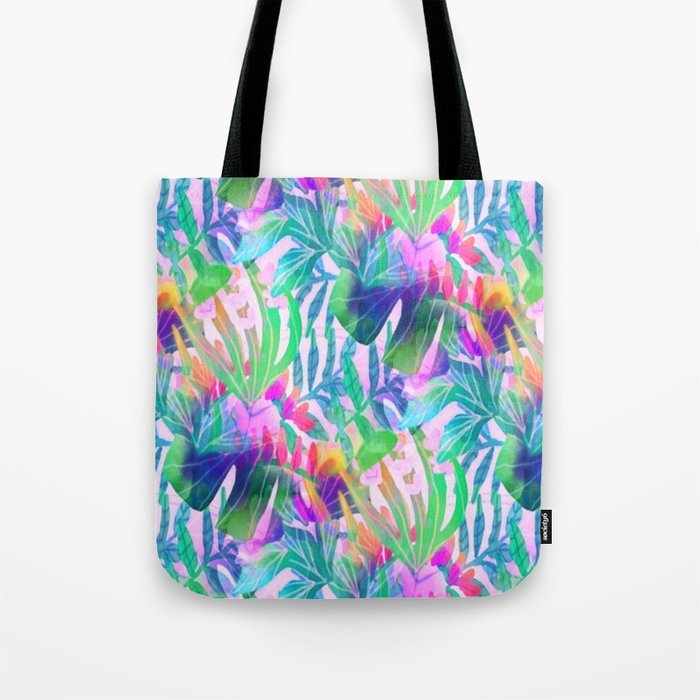 Pink Hawaiian  Tote Bag