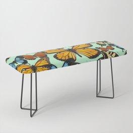 Mariposas- Butterflies Bench
