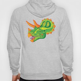 Triceratops (lime) Hoody