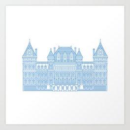 NYS Capitol Building #2 Art Print