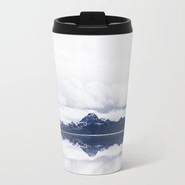 Snow Covered Mountains Travel Mug