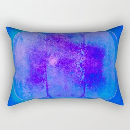 Blue Moon Rising Rectangular Pillow