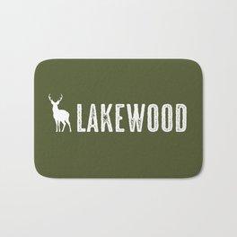 Deer: Lakewood, Colorado Bath Mat