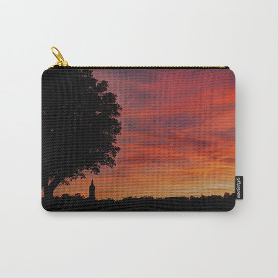 Gorgeous sunset in LOVE Carry-All Pouch