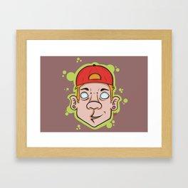 Hip Hop guy Framed Art Print
