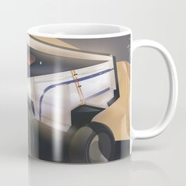 Mars, Enlist Today! Mars Rover travel poster Coffee Mug