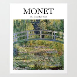 Monet - The Water Lily Pond Art Print