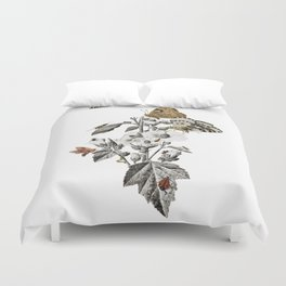Insect Toile Duvet Cover