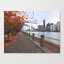 NYC - Governors Island Canvas Print