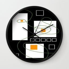 Color Within Wall Clock