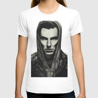 benedict cumberbatch T-shirts featuring Benedict Cumberbatch by Charlotte Hussey