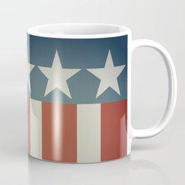 Three Starred Spangle Banner Coffee Mug