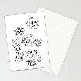 Pokemen  Stationery Cards