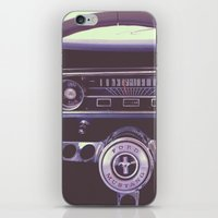 mustang iPhone & iPod Skins featuring Mustang by Jeremiah Locke