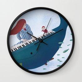 Ponyo fanart Wall Clock