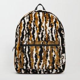 Gold & Black Jungle Rain Backpack