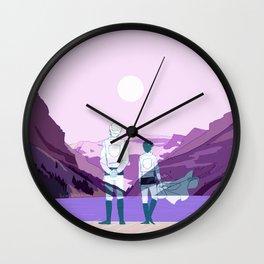 Eruri Mountain Wall Clock