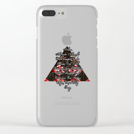 Delta Sigma Theta Founders Design with Pyramid Clear iPhone Case
