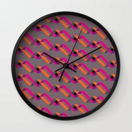 xoxo neon Wall Clock
